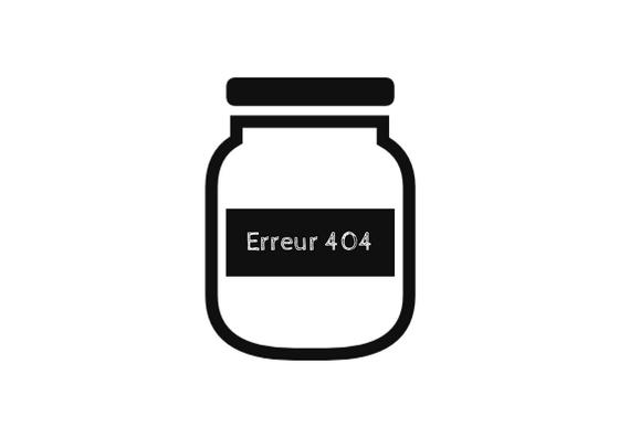 bocal étiqueté erreur 404
